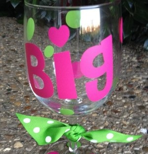 Custom Wine Glass | Make it Your One of a Kind-custom orders  wine glass  make it your one of a kind  personalized gift  monogram  name  short saying