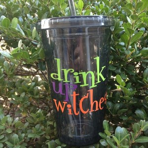 Halloween Tumbler - Drink Up Witches - 16 oz Acrylic Tumbler-halloween tumbler drink up witches 16 oz acrylic tumbler with lid halloween cup halloween drink up witches acrylic tumbler smoke tumbler clear tumbler
