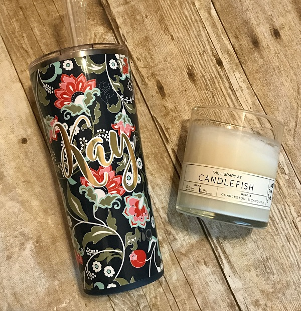 Lotus Blossom Tumbler-Lotus blossom tumbler, Swig, 22 oz tumbler, double-walled tumbler, vacuum-sealed cup, copper-coated insulation tumbler, Swig Life tumbler, insulated tumbler, cold for 24 hours, hot for 12 hours, resilience, inner strength, beautiful flowers, gift idea for her, unique present, teacher gift