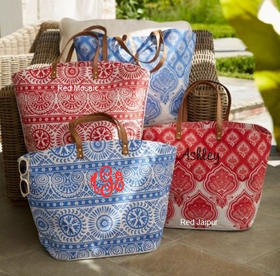 Monogram Tote - Mud Pie - Beach Bag - Bridesmaid Gift - Custom Bag-monogram tote, mud pie, beach bag, monogram purse, bridesmaid gift, mud pie jute tote, bridesmaid, bag, purse, tote, book bag, custom bag, monogram bag, monogram totes, market bag, market tote, custom tote, mudpie