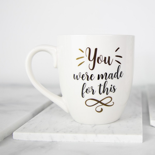 Inspirational Coffee Cup - You Were Made for This - 19 oz Mug-inspirational coffee cup, coffee cup, be still and know, floral 19 oz mug, floral mug, coffee mug, inspirational coffee mug, floral cup, mothers day, drinkware, mugs, teacup, tea cup, tea mug, house warming gift,teacher gift, teacher mug, teacher coffee mug, teacher coffee cup, You had me at the correct use of youre, grammar lover, grammar police, you were made for this