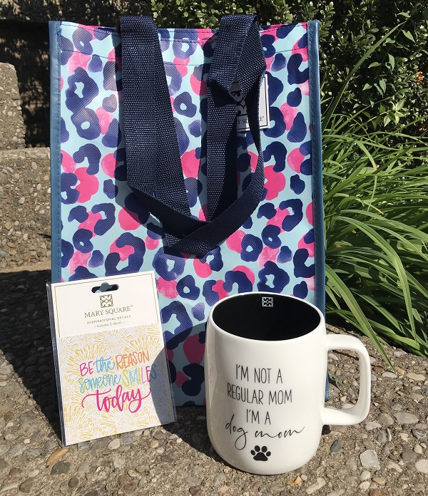 Gift Bundle - Dog Mom Coffee Cup -  Decal - Gift Bag-inspirational coffee cup, coffee cup, be still and know, floral 19 oz mug, floral mug, coffee mug, inspirational coffee mug, floral cup, mothers day, drinkware, mugs, teacup, tea cup, tea mug, house warming gift, dog mom coffee cup, dog mom coffee mug, dog mom, ceramic mug, 19 oz mug, 19 oz cup, ceramic cup, gift bundle