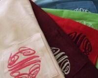 MONOGRAMMED SS Pocket T Shirt-t shirt, monogrammed, pocket tee, custom, personalized, circle script, circle block, tshirt, tee, gift, bridesmaid, bride, sorority, greek