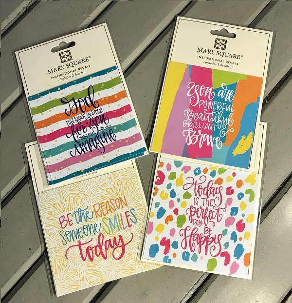 Inspirational Decals | Happy Mail-happy mail, inspirational decals, decals, respositional, quarantine happy mail, mail, decal, inspirational decal, spread joy and happiness, God has more in store for you than you can even imagine, be the reason someone smiles today, you are powerful, beautiful, brilliant and brave, today is the perfect day to be happy