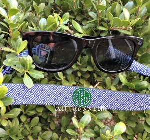 Kid Size Monogram Sunglass Straps - Greek Key Design - Croakies - Mini Me - Monogram Gift - Just Like Mom-kid croakie, kid sunglass, croakie, sunglass croakie, sunglass strap, family reunion, family outing, school outing, school, customized, personalized neoprene croakies, eyeglass strap, custom, monogrammed glitter sunglass strap, glitter vinyl, glitter, glitter croakie, kid size monogram sunglass strap, greek key design, kid size greek key design, kid size monogram sunglass strap, mini me, monogram gift, just like mom