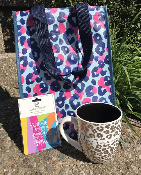 Gift Bundle - Overcomer Coffee Cup -  Decal - Gift Bag - Graduation Gift